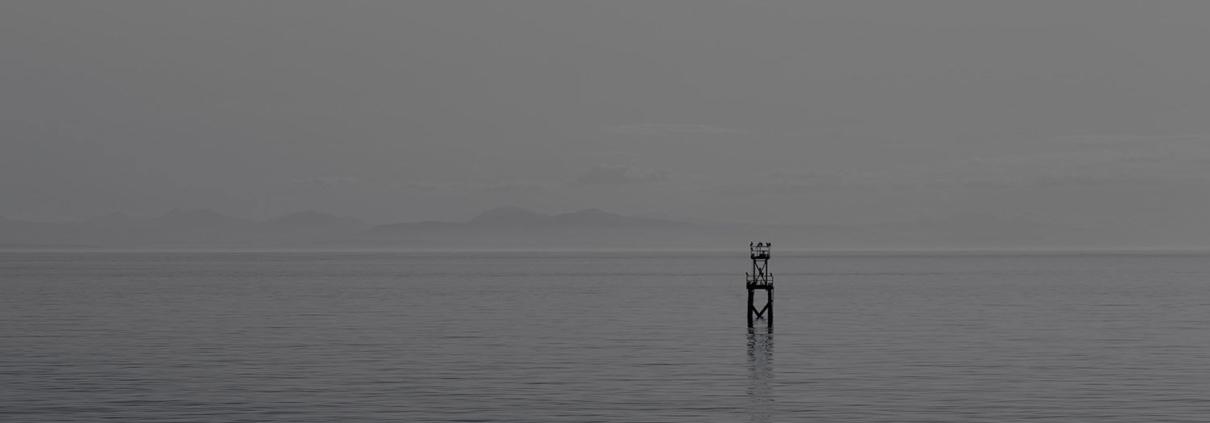 Darkened Water