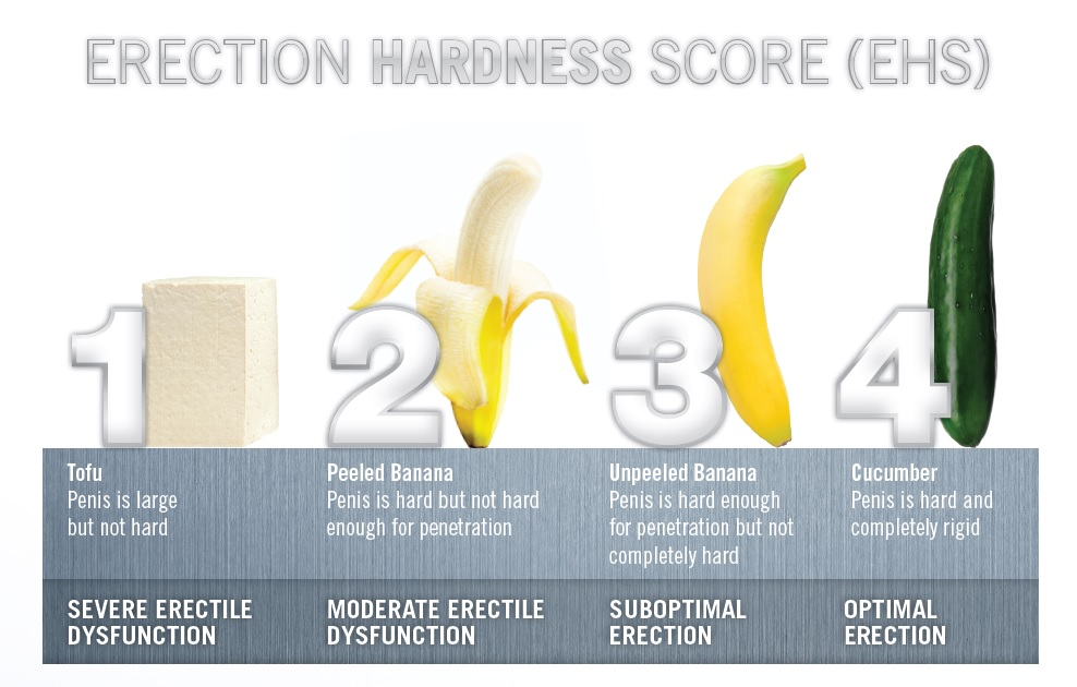 Erection Hardness Scale - from Tofu to Cucumber!