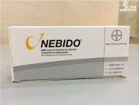 Testosterone injections Nebido Singapore